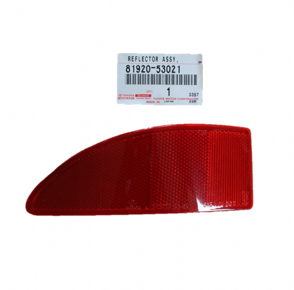 Genuine Lexus LH Rear Bumper Reflector (IS220, IS250, IS220d) 81920-53021, 8192053021